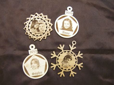 laser engraved ornaments 17 best images about personalized ornaments