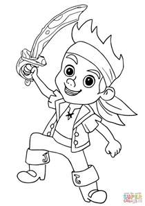 coloring pages for jake and the neverland coloring page jake pirate cubby coloring pages