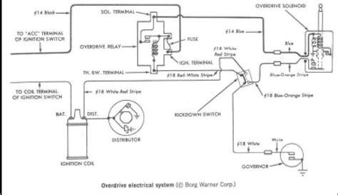 circuit  wiring diagram borg warner truck wiring diagram