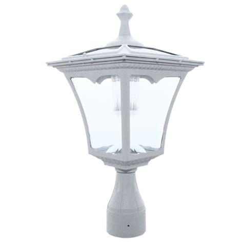 post top solar lights pl05 solar regency post pole top light