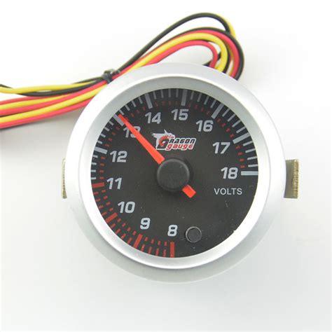 Promo Auto Voltage Detector Car Volt Meter 12v 24v Accu Mobil 12v voltmeter promotion shop for promotional 12v