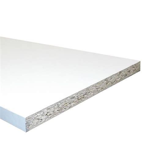 Black Melamine Shelf Board by White Melamine Faced Chipboard Conti Board 535mm 21