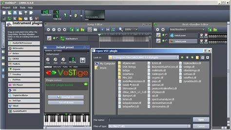 tutorial lmms youtube lmms tutorial getting vst instruments youtube