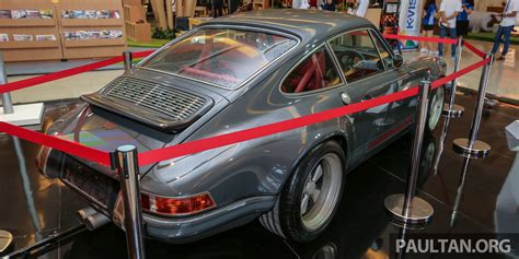 porsche indonesia iims 2016 porsche 911 singer indonesia s only unit