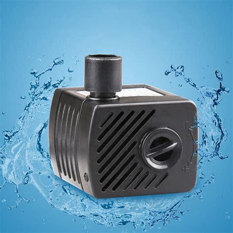 Pompa Aquarium Ac elettrico solare dc 12v 1000l h brushless motore acqua