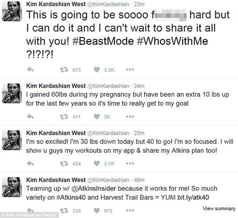 kim kardashian daily mail diet kim kardashian reveals she has lost 30lbs of baby weight