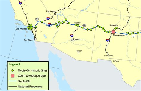 map of texas and arizona new mexico arizona and california map route a discover our shared heritage travel itinerary