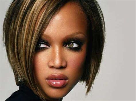 tyra banks with fringe bangs short hairstyle 2013 25 short hair for black women 2012 2013 short