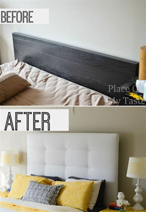 ikea malm bed headboard hack ikea hacks a diy upholstered malm headboard