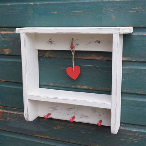 cottage wall shelf distressed country cottage wall shelf by siop gardd