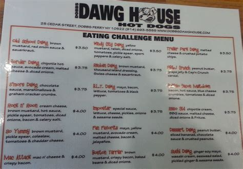 dawg house hot dogs dobbs dawg house s 12 specialty dogs challenge foodchallenges com foodchallenges com