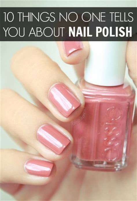 10 things no one ever tells you about haircuts 10 things no one ever tells you about nail polish