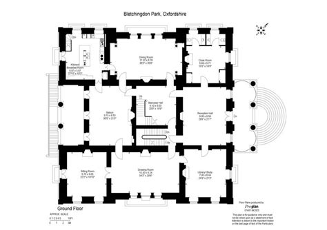 parking floor plan design pinterest architecture bletchingdon park ground floor floor plans castles