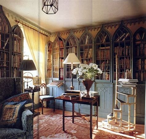 gothic home decor ideas 21 gorgeous gothic home office and library d 233 cor ideas