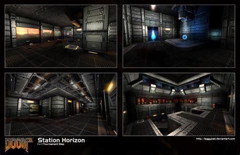 doom3 map doom 3 mp map station horizon by laggyzaki on deviantart