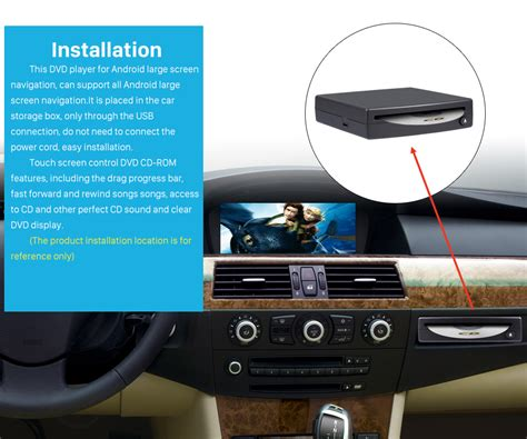 dvd format player for android universal external android touch screen car dvd player