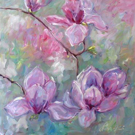 fiori astratti pittura 1000 idee su fiori astratti su dipingere