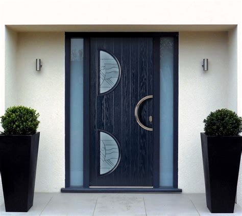 Contemporary Composite Front Door Wl Contemporary Door Copy