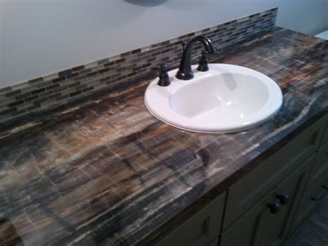 Laminate Bathroom Countertop by Laminate Countertops Eclectic Bathroom Grand Rapids