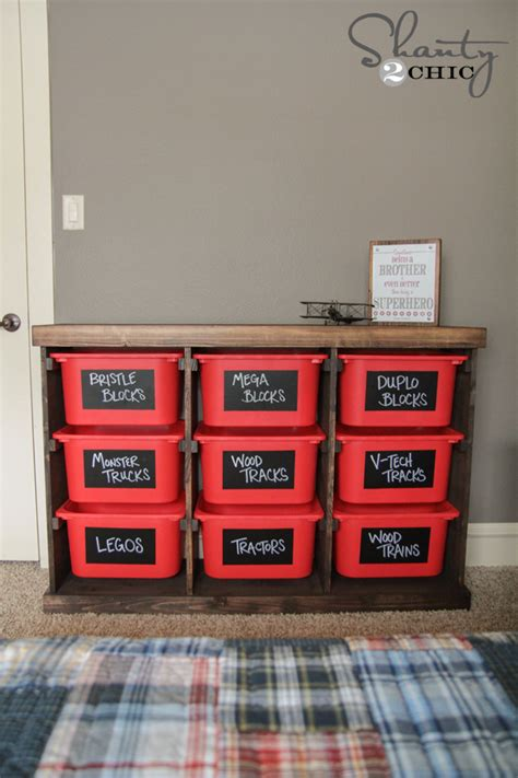 diy storage diy storage idea shanty 2 chic