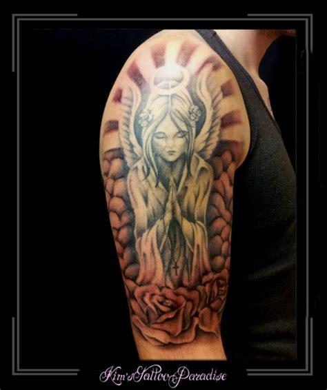 tattoo arm zon stralen kim s tattoo paradise