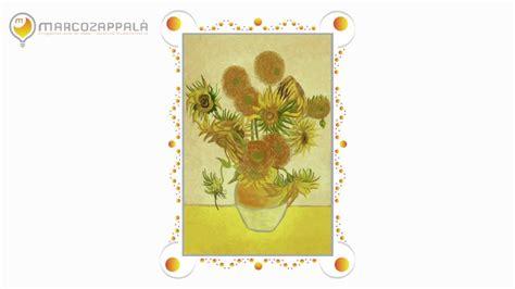 vaso di girasoli di gogh disegnando quot i girasoli quot di vincent gogh con brushes