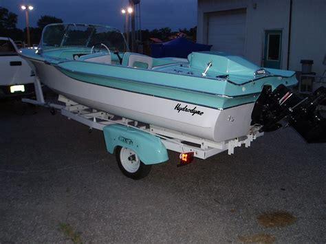 hydrodyne boats fiberglassics 174 restored 1965 hydrodyne fiberglassics
