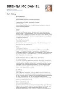 Resume For Board Of Directors by Board Member Resume Sles Visualcv Resume Sles Database