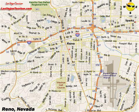 reno map map of nevada nevada maps mapsof net
