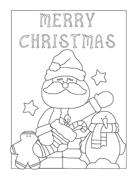 26 Christmas Coloring Pages Printable Merry Santa Coloring Pages