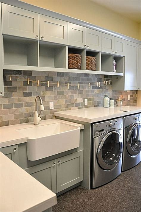 laundry room  sink large countertop  folding