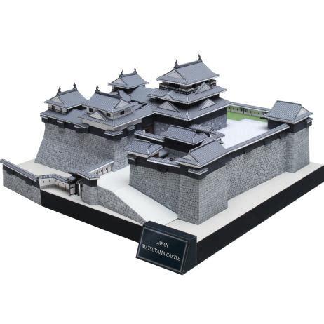 Canon Papercraft Castle Of Snow - canon papercraft matsuyama castle iyo free building