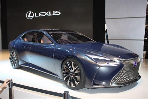 Lexus Lf Fc Concept Previews Ls Fuel Cell Future