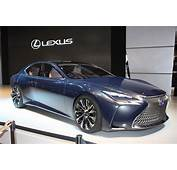 Lexus LF FC Concept Previews Next LS Fuel Cell Future
