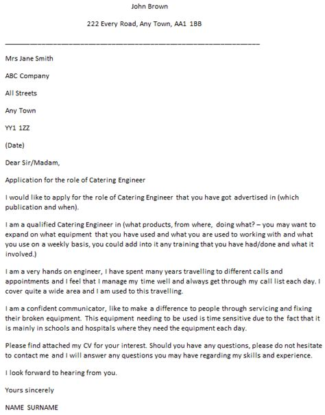 Network Support Engineer Cover Letter by Best Ideas Of Junior Mechanical Engineer Cover Letter Exles About Create Cover