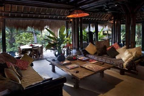 living room bali lila bamboo villa photos ubud bali villas indonesia photos the villa guide