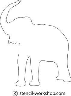 1000 Images About Zoo On Pinterest Hippo Crafts Elephant Silhouette And Zoos Elephant String Template