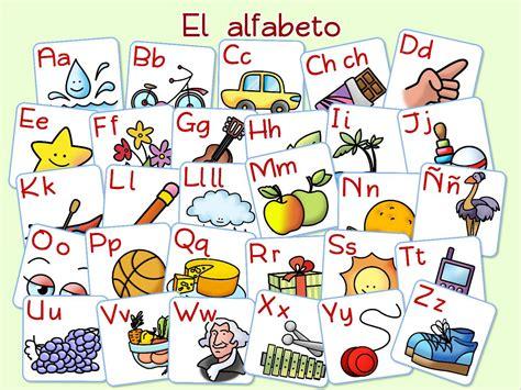 el alfabeto alphabet el alfabeto