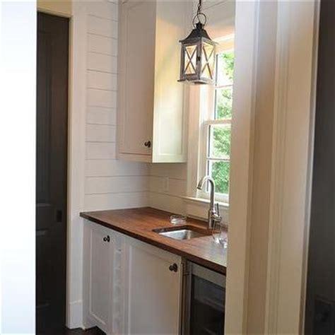 Pantry Sink by Black Butler Pantry With Mirrored Backsplash