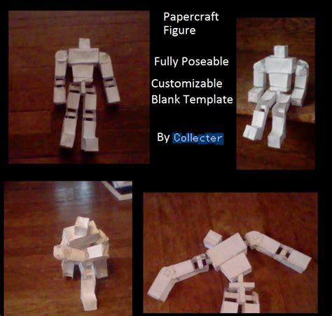 How To Make Paper Figures - papercraft figure paperkraft net free papercraft
