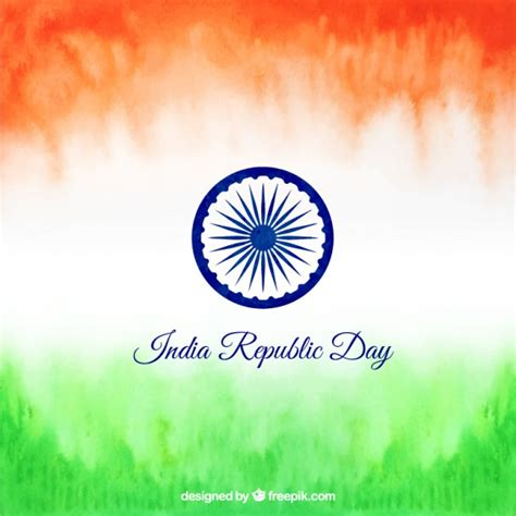 india republic day india republic day background vector free