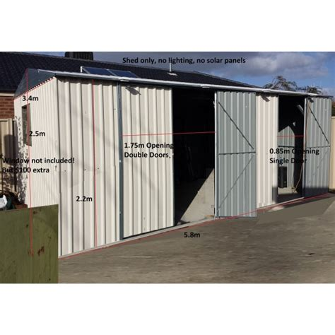 Garden Sheds Sizes by Garden Shed 5 8 W X3 4 D X2 5 H M Gable Roof