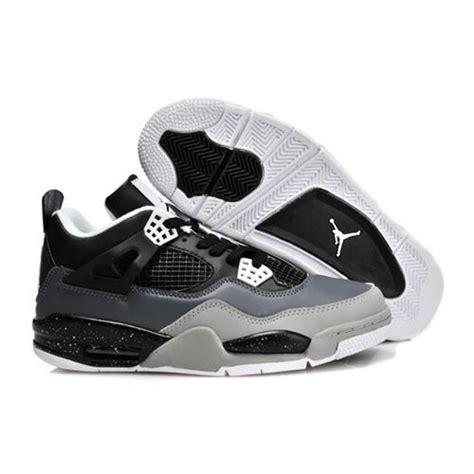 cool cheap sneakers air 4 cool low black white grey air sneakers