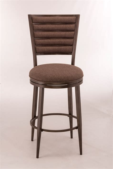 Hillsdale Wilshire Bar Stools by Hillsdale Wilshire Swivel Wood Bar Stool With Arms
