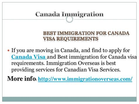 Mba In Clinical Research In Canada by Best Immigration For Canada Visa Requirements