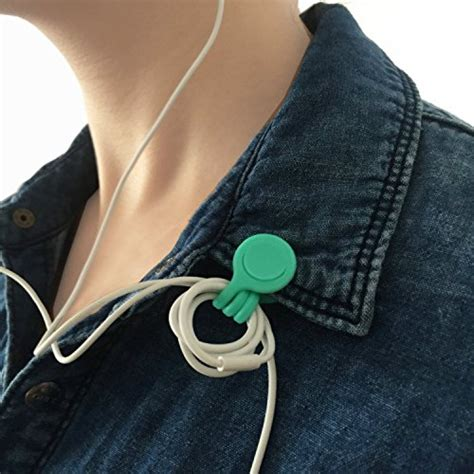 cable management eridge multi purpose earbuds cord organizer usb cable winder wrap manager