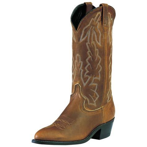 laredo boots s s laredo 13 quot deertan boot 99421 cowboy western