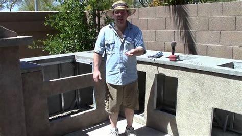 Outdoor Kitchen Island Plans outdoor kitchen tv show 6 youtube