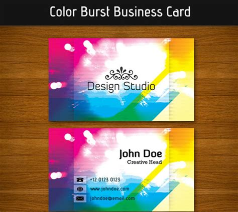 Card Based Web Design Template by 30 Psd Business Card Templates Web3mantra