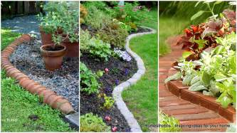 Ideas For Lawn Edging 17 Simple And Cheap Garden Edging Ideas For Your Garden